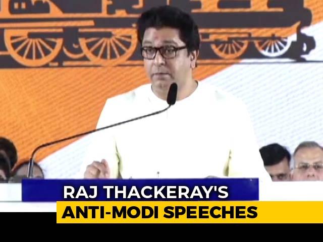 Video : At Maharashtra Rally, Raj Thackeray 'Fact-Checks' PM Modi's Statement