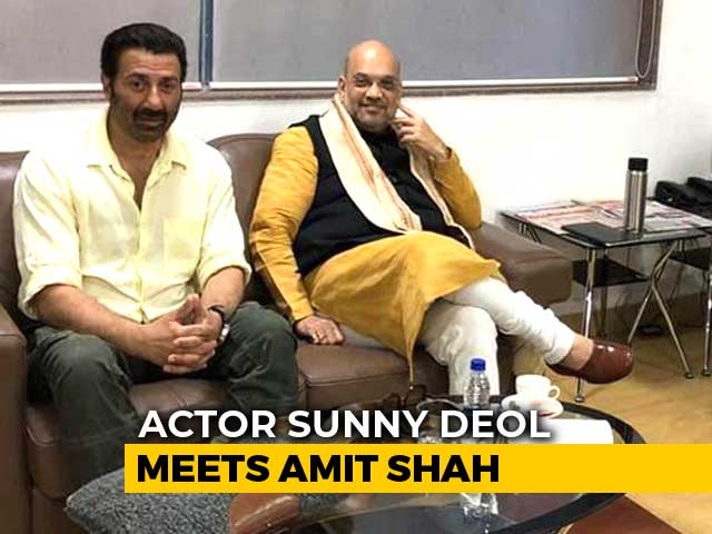 Video : Sunny Deol BJP Candidate From Amritsar? Amit Shah Meets Action Hero