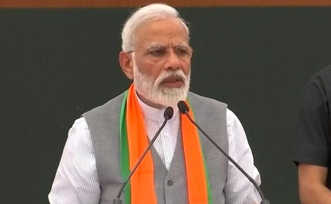 BJP Releases Manifesto, Promises Ram Mandir, Double Income For Farmers
