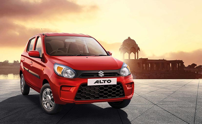 2019 Maruti Suzuki Alto 800 Facelift cars Launched In India; Prices Start ...