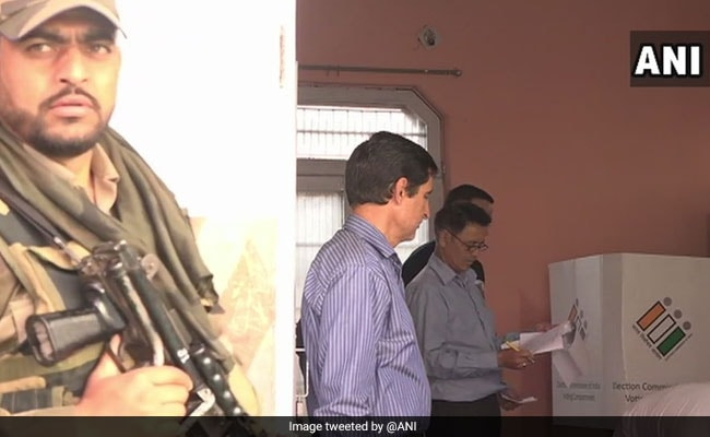 Over 55% Polling In Jammu And Kashmir Amid EVM Malfunction Allegations