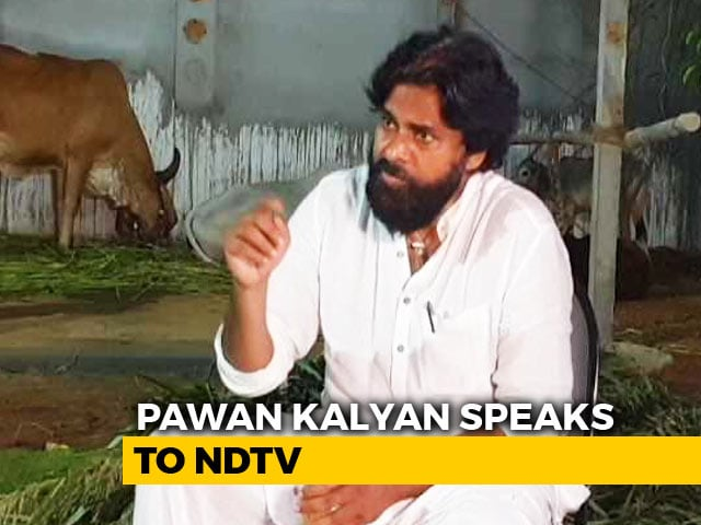 Video : Prannoy Roy Speaks To Pawan Kalyan On Allying With Mayawati For Polls