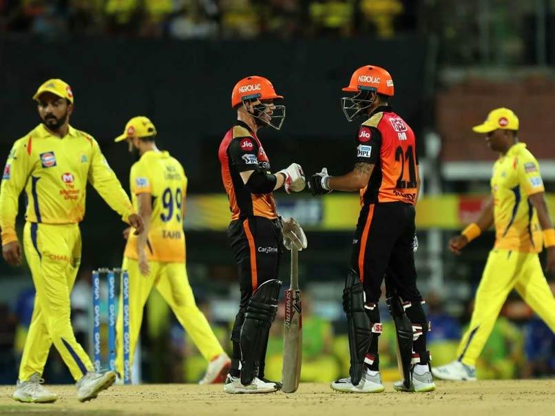 IPL Live Score, CSK vs SRH IPL Score: Harbhajan Singh Strikes Again To Get David Warner After Fifty