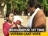 Video : First Time Voters In Odisha's Berhampur Seek Stable Government