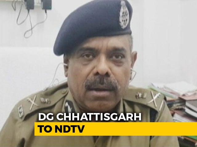 Video : Police Had Warned BJP Lawmaker Against Using That Road: Chhattisgarh Top Cop