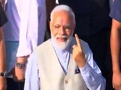 वोट डालने के बाद बोले पीएम मोदी: आतंकवाद की शक्ति IED है और लोकतंत्र की शक्ति 'वोटर ID'