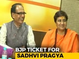 Video: BJP Fields Malegaon Accused Sadhvi Pragya vs Digvijaya Singh In Bhopal