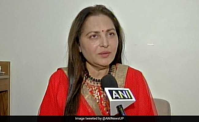 Jaya Prada Seeks Disqualification Of Azam Khan From Rampur Lok Sabha Seat