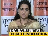 "Video : ""Upset And Appalled,"" Tweets BJP's Shaina NC, Doesn't Spare Her Party"