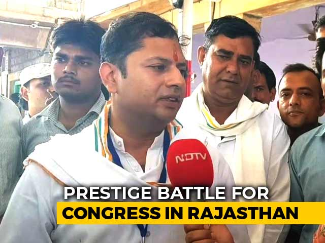 Video : In Rajasthan's Jodhpur, Ashok Gehlot's Son Fighting A Prestige Battle