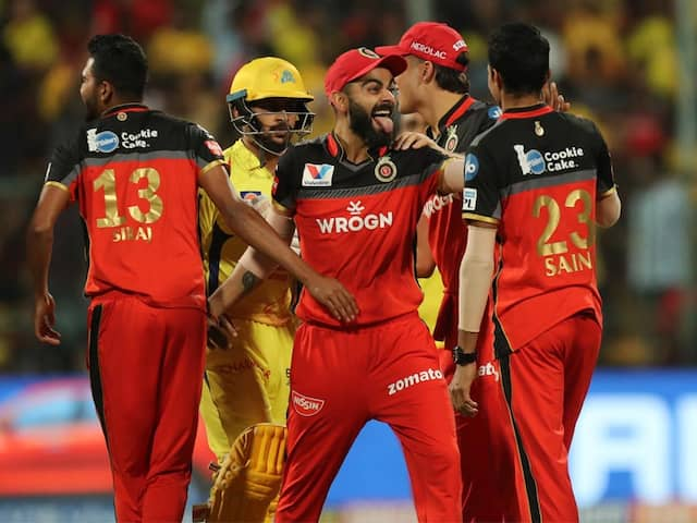 Royal Challengers Bangalore Beat Chennai Super Kings In A Thriller