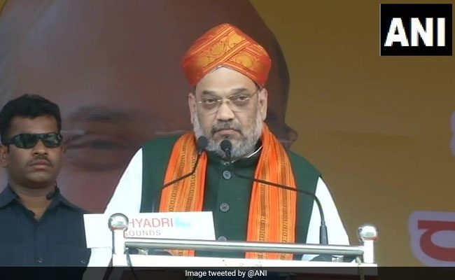 Country Safe From Terror Attacks Only If Modi Is Back As PM: Amit Shah