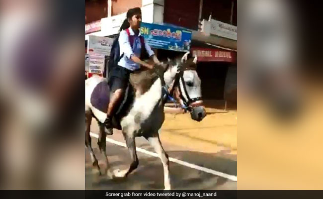 'She's My Hero,' Says Anand Mahindra For Teen Who Rode Horse To Exam Hall