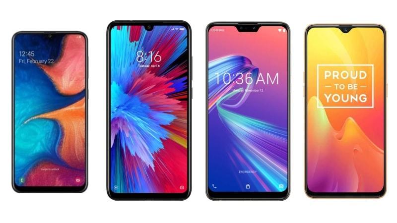 Samsung Galaxy A20, Redmi Note 7, Asus ZenFone Max Pro M2 और Realme U1 में कौन बेहतर?