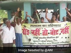 """No Road, No Vote"": Villagers In Bihar's Jamui Threaten To Boycott Polls"