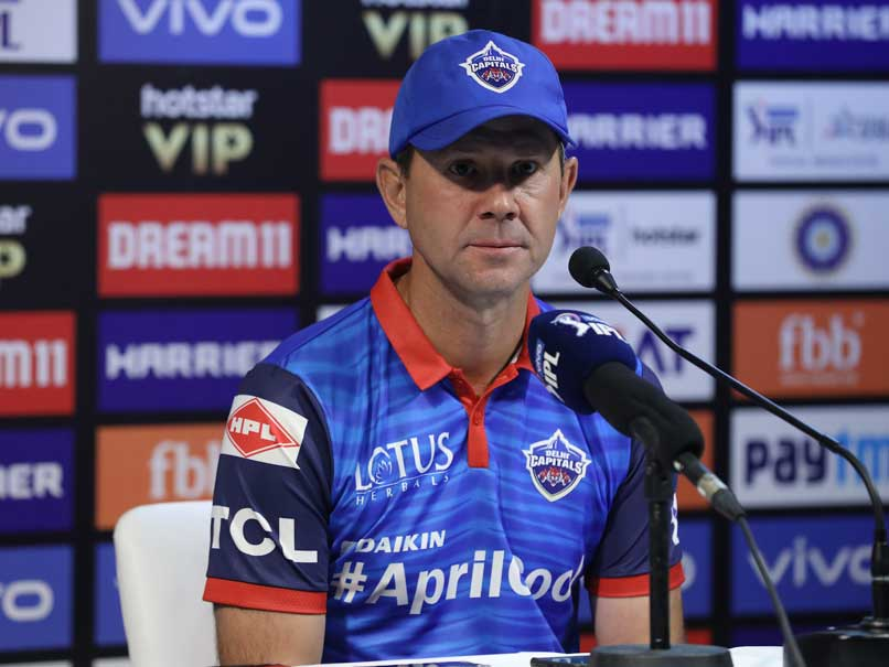 IPL 2019: Ricky Ponting Criticize Kotla Pitch And His Batting Department