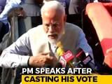 "Video : ""Fulfilled My Duty By Casting My Vote"": PM Modi"