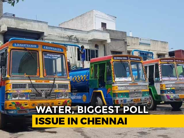Video : As Water Turns Poll Issue, Chennai Demands Roadmap From Candidates