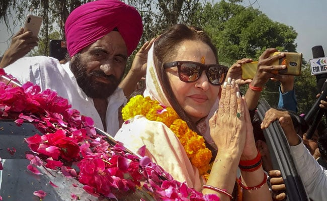 Jaya Prada Charged For Alleged 'X-Ray-Like Eyes' Remark Against Azam Khan