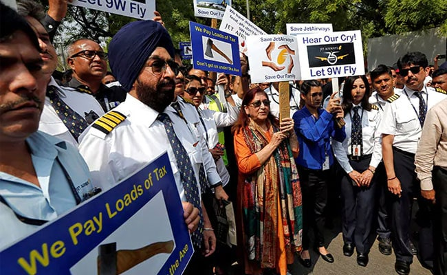 Jet Airways Pilots Union Urges Supreme Court To Direct SBI To Release Funds