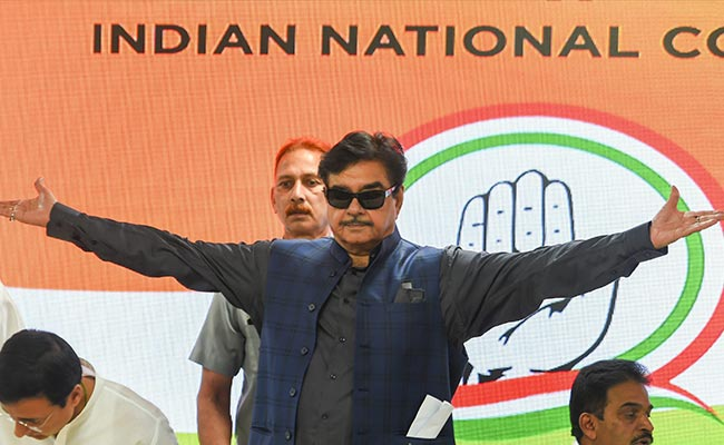 'Thought-Provoking': Shatrughan Sinha On PM's Independence Day Speech