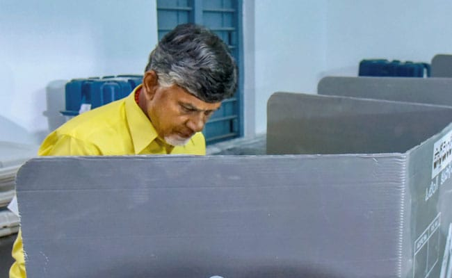 Chandrababu Naidu Demands Re-Poll In 150 Booths, Writes To Election Body