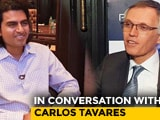Video : In Conversation With Carlos Tavares, Chairman Of The Managing Board, Groupe PSA