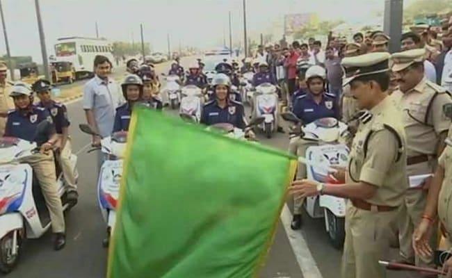 Vizag's 'Sthree Shakthi' Women Cops Were Trained To Drive Cars, Swim