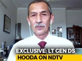 Video : Didn't Recommend Scrapping AFSPA In Congress Security Doctrine: Lt General DS Hooda