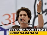 Video : Congress Ends Priyanka Gandhi Suspense, Fields Ajay Rai From Varanasi