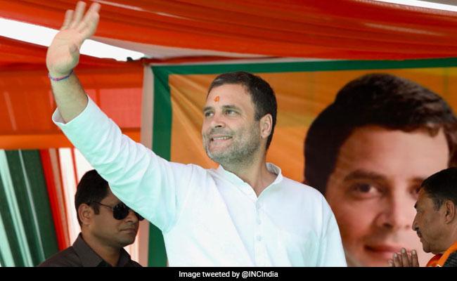 As Wayanad Jibes Fly, Rahul Gandhi To File Amethi Nomination On Wednesday