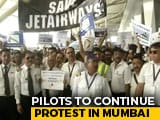 Video : Jet Pilots Urge PM Modi To Help Save 20,000 Jobs, Ask SBI For Funds