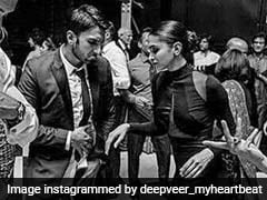Viral: These Pics Of Deepika Padukone And Ranveer Singh From A Friend's Wedding Are Just So Perfect