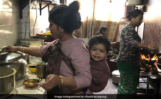 The 'Most Precious' Kitchen Pic That Chef Vikas Khanna Has Ever Clicked