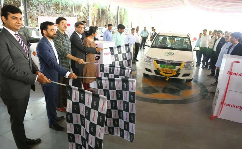 Mahindra's Electric Vehicles Now Available On Uber In