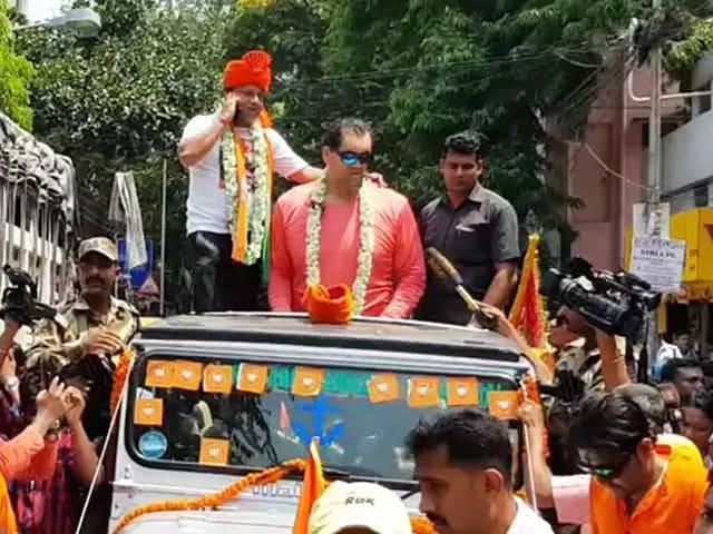 Video : பிரபல மல்யுத்த வீரர் 'கிரேட் காலி' பாஜகவுக்கு ஆதரவாக பிரசாரம்!!
