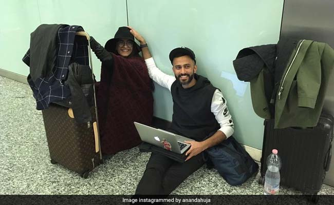 Inside Sonam Kapoor And Anand Ahuja's 'Airport Shenanigans'