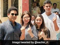 Sachin Tendulkar's Family, With Two First-Timers, Votes In Mumbai