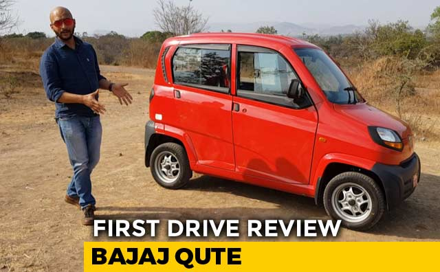 2019 Bajaj Qute First Drive Review