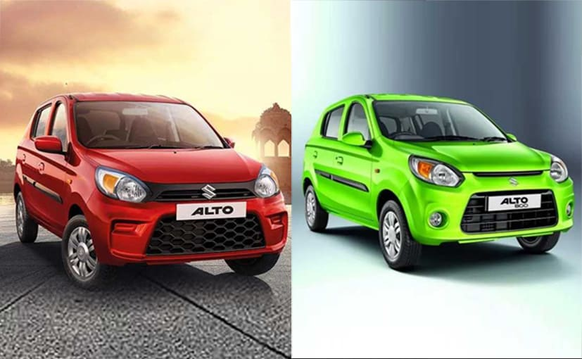 Maruti Suzuki Alto 800: Old Vs New