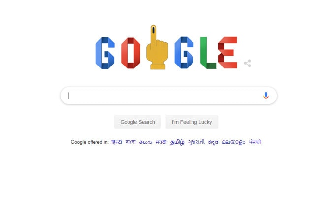 Elections 2019: Google Doodle Marks Second Phase Of Voting