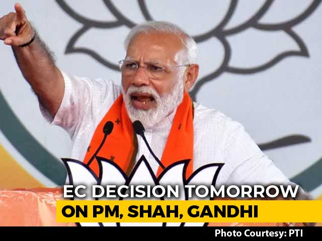 Video : Poll Body Decision On Complaints Against PM Modi, Rahul Gandhi Tomorrow