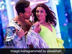 <I>Student Of The Year 2</I>'s <I>Hook Up Song</i>: Inside Alia Bhatt, Tiger Shroff's Colourful Date