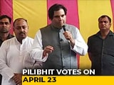 Video : In Varun Gandhi's Pilibhit Campaign, No Mention Of PM Modi, BJP's Work