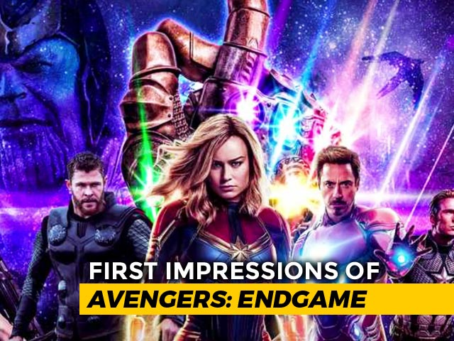 Video : First Impressions Of <i>Avengers: Endgame</i>