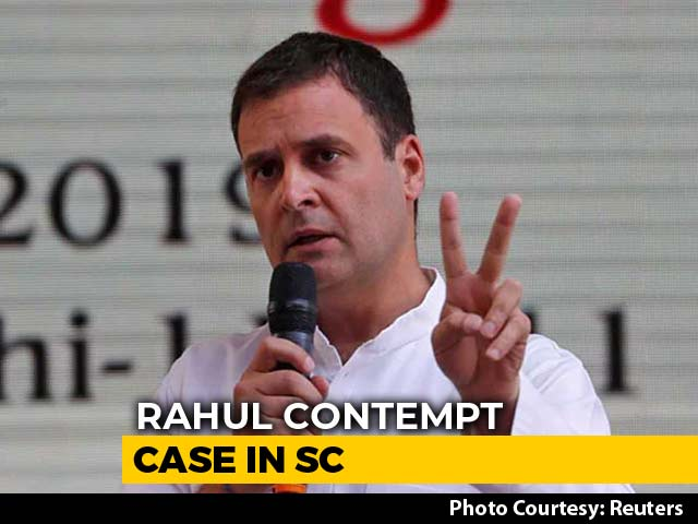 Video : From Regret To Apology: In Supreme Court, Rahul Gandhi Promises Do-Over