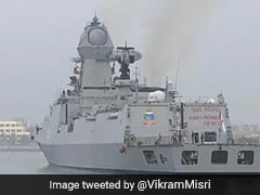 Indian Naval Ships Reach China To Participate In Multinational Navy Event