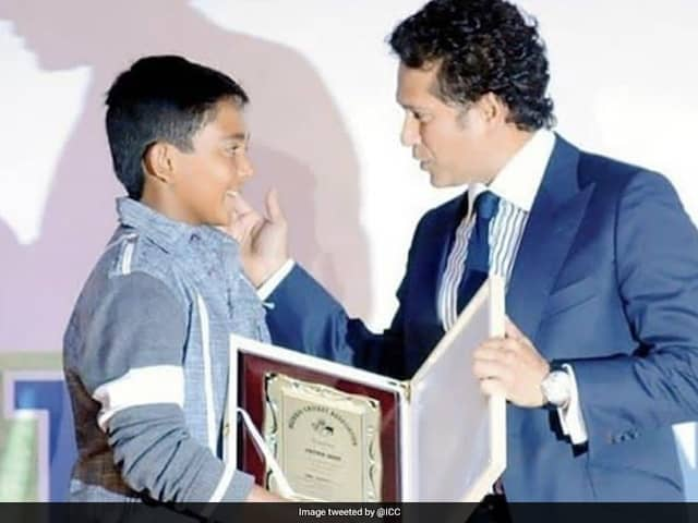 "ICCs ""Perfect"" Tribute On Sachin Tendulkars 46th Birthday. See Pic"