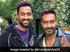 Krunal Pandya Responds To Movie Offer From Ajay Devgn