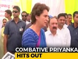 Video : In Amethi, Priyanka Gandhi Takes On Smriti Irani In Fight Over Shoes